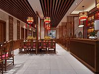 中餐廳3d模型