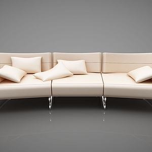 创意三人沙发模型