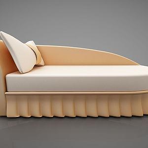 创意单人沙发模型