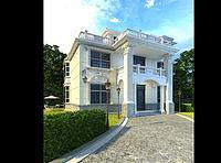 別墅3d模型