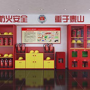 消防站3d模型