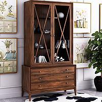 美式書柜飾品3d模型