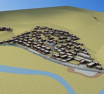 藏族村庄规划