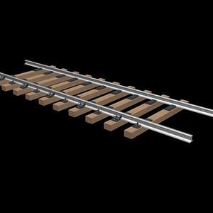 高铁铁轨,铁路模型