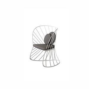 休闲椅模型