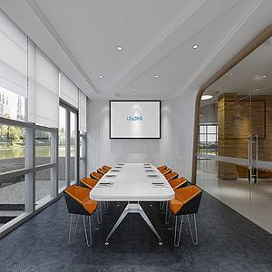 会议室模型3d模型