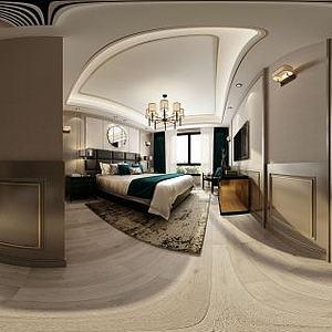 新古典卧室空间模型