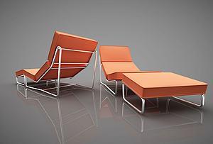 现代风格休闲椅模型3d模型