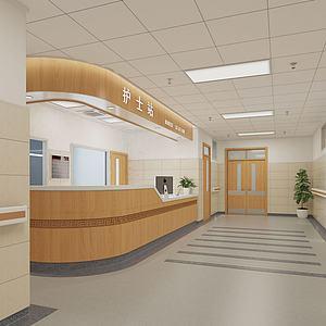 中医院护士站模型