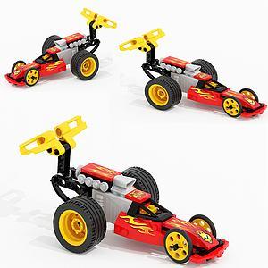 儿童飞车玩具模型3d模型
