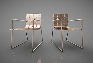 现代风格休闲椅子模型3d模型