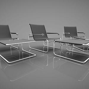 现代风格休闲椅子模型