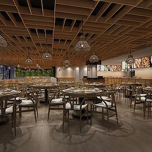餐厅模型3d模型