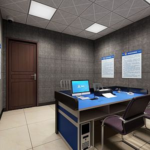 审讯室询问室模型