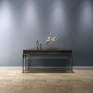 装饰柜摆件模型3d模型