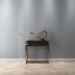 现代装饰柜模型