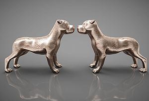 动物狗摆件模型3d模型