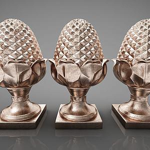 创意雕塑摆件组合模型