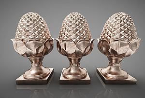创意雕塑摆件组合模型3d模型