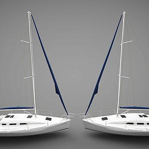 现代船组合模型