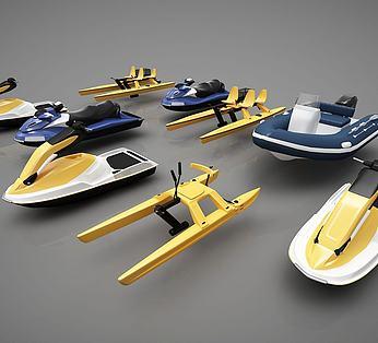 创意小船组合