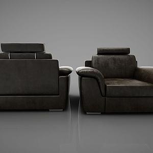 皮?#23454;?#20154;沙发模型