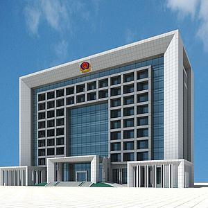 现代办公楼3d模型
