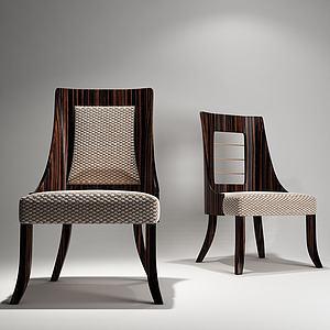 現代餐椅模型模型3d模型