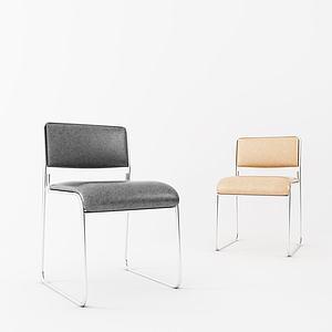 現代簡約辦公椅模型3d模型