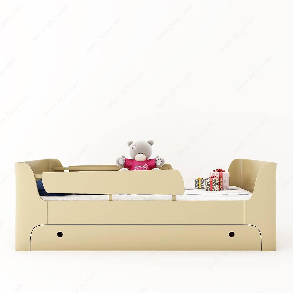 现代儿童床婴儿床