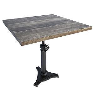 工業風單人桌3d模型