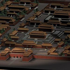 3d故宮<font class='myIsRed'>古建筑</font>模型