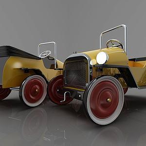 现代风格小汽车模型