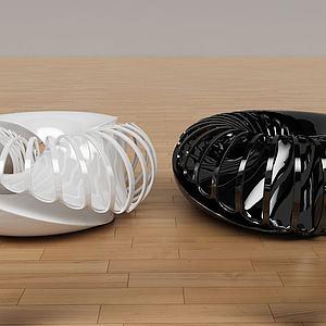 异形陶瓷装饰品模型