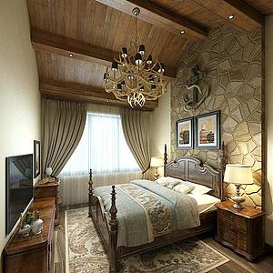 酒店客房模型