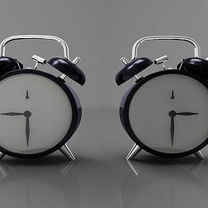 现代风格闹钟模型