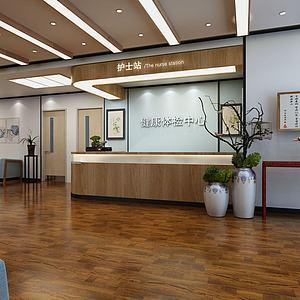医院大厅3d模型
