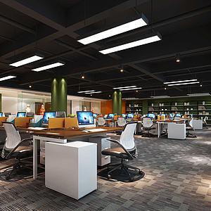 办公室模型