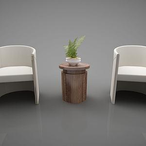 现代创意椅子模型