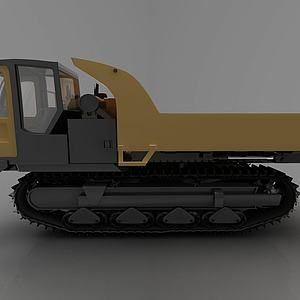现代推土车模型