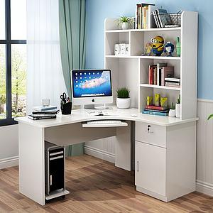 現代辦公桌電腦桌3d模型