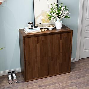 現代簡約裝飾柜3d模型