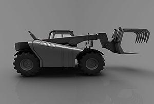3d现代工程<font class='myIsRed'>车</font>模型