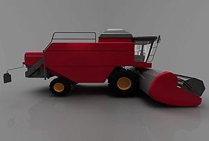 現代鏟車模型3d模型