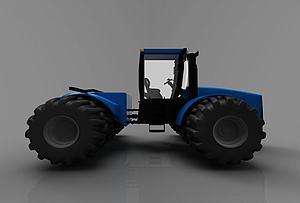 現代風格小車模型3d模型