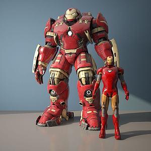 鋼鐵俠模型3d模型