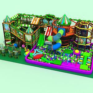 儿童游乐设施模型3d模型