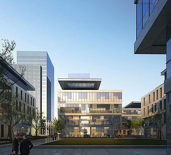 现代办公楼产业园