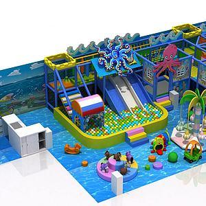 儿童淘气堡3d模型