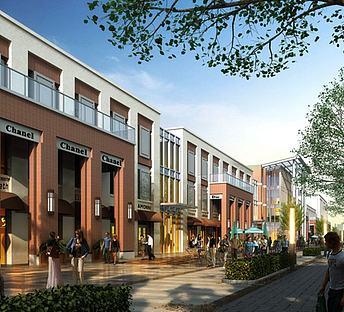 新古典简欧商业街